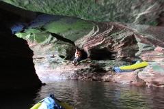 Sand Island Caves
