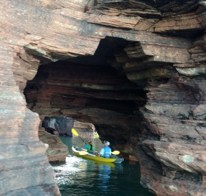 Devils Island Sea Caves