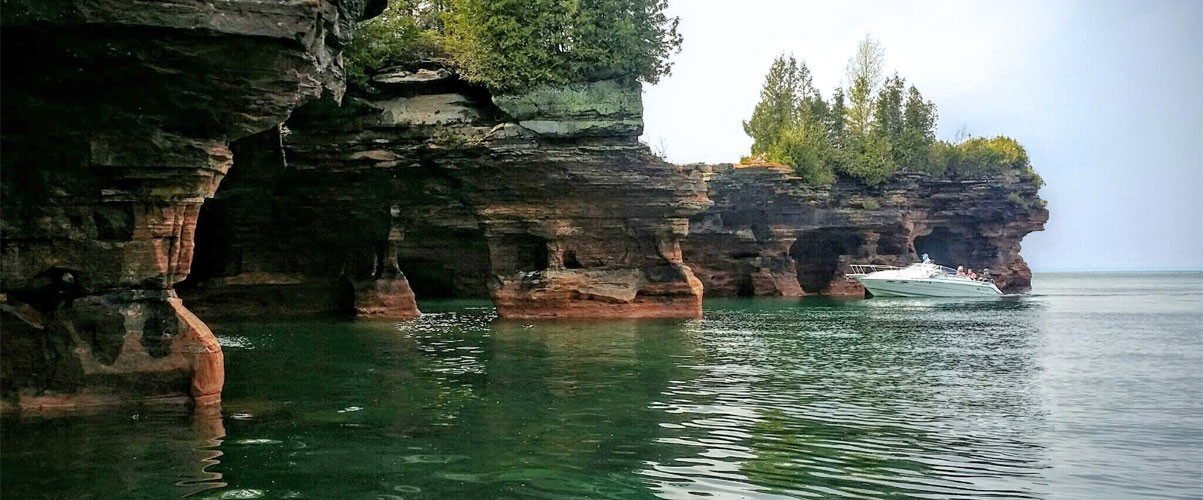 Apostle Island Cave Tours